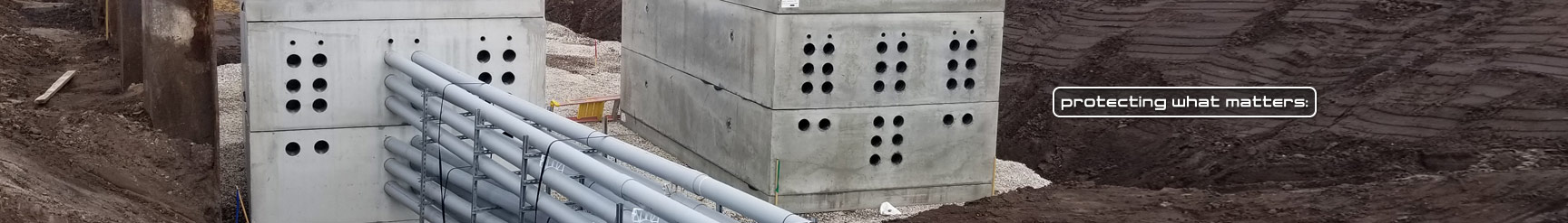 Precast Concrete Electric Manhole Utility Vaults